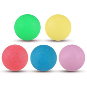 Stress Relief Balls, PBPBOX 5 Pack Squishy Balls Non-Toxic Hand Exercise Balls