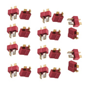 Haodou 10Pairs T Plug Connectors Deans Style Male And Female Connectors For Rc Lipo Battery