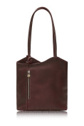 Montte Di Jinne - | Natural Vegetable Tanned Italian Leather | Shoulder Bag | Backpack | Luxury Gift for Women|