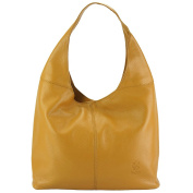 Lightweight and body-friendly leather shoulder bag Caïssa Hobo - 0834 - Leather Bags