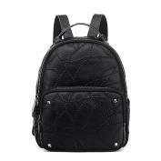 Ladies Embroidery College Fashion Backpack