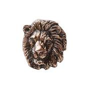 Copper ~ Lion ~ Lapel Pin / Brooch ~ MC102