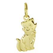 InCollections Cat 0010100021401 8ct Yellow Gold Charm