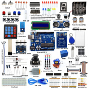 Adeept RFID Starter Kit for Arduino UNO R3 from Knowing to Utilising, Servo, RC522 RFID Module, PS2 Joystick, Beginner/Starter Learning Kit with Guidebook(PDF) and C Code