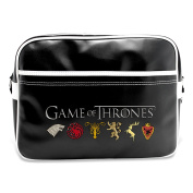 ABYstyle ABYBAG098 Game of Thrones Coat of Arms of the Kingdoms Messenger Bag, 48 cm, 25 Litres, Multicolor