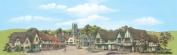 Peco Large Provincial Town Backscene