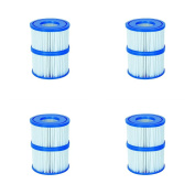 Filter Cartridge VI for Lay-Z-Spa Miami, Vegas, Monaco 4x Twin Pack
