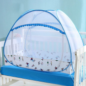 HJXJXJX Baby Mosquito Nets, Newborns Free To Instal Portable Foldable Baby Cottage Yurts Baby Bag Nets