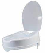 JOCCA WC Raised Toilet Seat with Lid, White