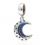 925 Sterling Silver Moon Charm Sun Charm Star Charm Anniversary Charm Christmas Charm for Pandora Charms Bracelet