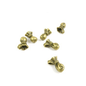 Price per 5 Pieces Jewellery Making Supply Charms Findings Filigrees A5KD7V Money Bag Sack Purse Antique Bronze Findings Beading Craft Supplies Bulk Lots