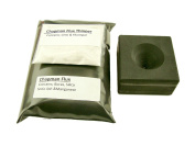 Conical Mould + 0.5kg Chapman Flux & Free Thinner- Assy Gold Silver Black Sand Cone