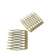Price per 20 Pieces Jewellery Making Supply Charms Findings Filigrees W3XK9M Hair Comb Antique Bronze Findings Beading Craft Supplies Bulk Lots