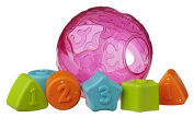 Playgro 4086170 Roll and Sort Ball Pink for Baby
