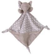 Stephan Baby Plush Knotty Animal Security Blankie, Elephant