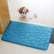 Bathroom Rugs, Chickwin Flannel Comfortable Non-slip Bath Mat Bathroom Carpet Super Absorbent Soft Shower Rug