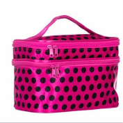 KAFEI Double wash bag package travel waterproof cosmetic bag multi-function,A