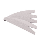 MultiWare 10pc Double Sided Fine Nail Buffer Nails Files Banana Curved Cushion Block 100/180