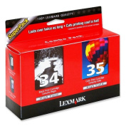 No 34/35 Ink Cartridge Combo Pack