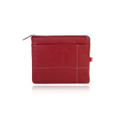 Toffee Leather Pocket for Apple iPad 2 - Red
