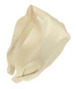 L. Erickson USA Scarf Headband - Silk Charmeuse Cream
