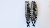 2pcs Jumbo Banana Comb Clip Thick Hair Riser Claw Interlocking Jaw Extra