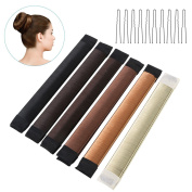 ETEREAUTY Hair Bun Maker for Quick and Easy Hair Buns - 6 Colours per Package