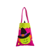 Livoty Halloween Cute Witches Candy Bag Packaging Children Party Storage Bag Gift