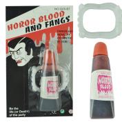 Livoty Fake Blood Gel Tube Horror fancy dress Costume Halloween Party Joke Red Toy
