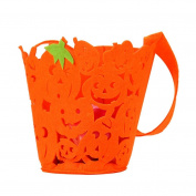Livoty Halloween Gift Bag Basket Devil Bag Kids Candy Handbag Bucket Children