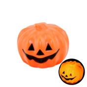 Livoty Halloween Decorative Supplies Small Colour Glowing Pumpkin Ghost Light Child