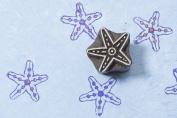 Blockwallah Cute Starfish Wooden Block Stamp