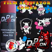 Combo Kit Cows Cartoon Animal Hydrographic Water Transfer Film Activator Combo Kit Hydro Dipping Dip Demon
