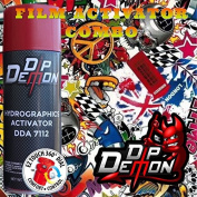 Combo Kit Sticker Bomb 13 Hydrographic Water Transfer Film Activator Combo Kit Hydro Dipping Dip Demon