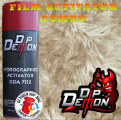 Combo Kit Fur Hydrographic Water Transfer Film Activator Combo Kit Hydro Dipping Dip Demon