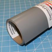 ThermoFlex Plus 38cm x 4.6m Roll Storm Grey Heat Transfer Vinyl by Coaches World