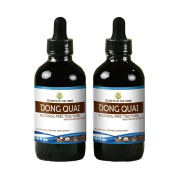Dong Quai Alcohol FREE Liquid Extract, Organic Dong quai (Angelica sinensis) Dried Root Tincture Supplement