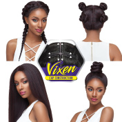 Outre Synthetic Hair Lace Front Wig 4Way Part Swiss X Vixen Blow Out Straight