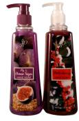 Winter Holidays Seasonal Soaps - Bundle of 2 Scented Liquid Soaps