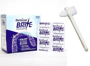 Retainer Brite 18 Tablets with Denture Brush