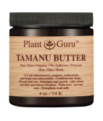 Tamanu Body Butter 120ml 100% Pure Raw Fresh Natural Cold Pressed. Skin Body and Hair Moisturiser, DIY Creams, Balms, Lotions, Soaps.