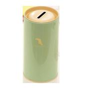 Lucoo Money Saving Box Metal Piggy Bank Tin Coin Cash Case Pot Kid Storage