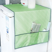 Saumota Household Space Saving Electronic Cover Storage Bag Refrigerator Dust Cover-Green
