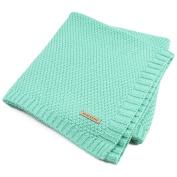 Hi9 Shop Knitted Patterns Baby Stroller Blanket For Toddler Bedding Cover 100 x 80 cm