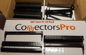 Connectors Pro10-Pack 2X22 44-Pin 2mm Pitch Dual Row IDC Socket, 10 Sets Pack, Terminates to 1mm Flat Ribbon Cable