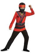 LEGO Ninjago Movie 51803L-EU Kai Jumpsuit Dress Up Costume, Multi-Colour, 4 - 6 Years