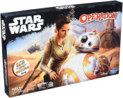 Disney Star Wars Toy - Operation Family Game - Last Jedi Rey - BB-8 Force Awakens