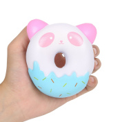 Aolige Jumbo Squishies Cute Panda Donuts Kawaii Cream Scented Very Squishies Slow Rising Decompression Squeeze Kids Simulation Toys