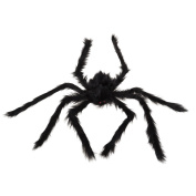 Tinksky Scary Spooky Spider Plush Toy Fake Spider Halloween Party Scary Decoration Haunted House Prop Halloween Decorations 90cm