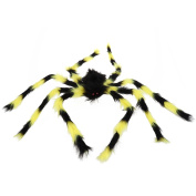 Tinksky Fake Spider Scary Spooky Spider Plush Toy Halloween Party Scary Decoration Haunted House Prop Halloween Decoration 90cm